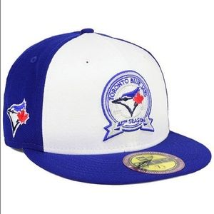New Era 5950 Toronto Blue Jays Patch Fitted Hat
